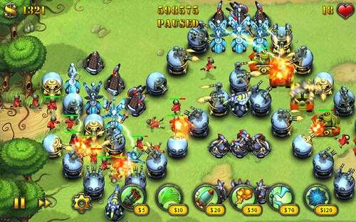 Fieldrunners HD for Android