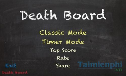 Death Board for Windows Phone