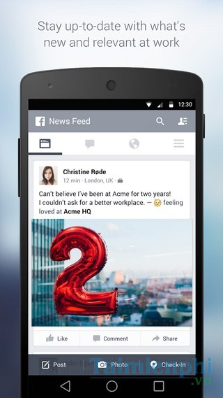 Facebook at Work for Android