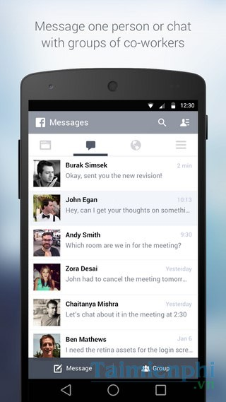 download Facebook at Work for Android