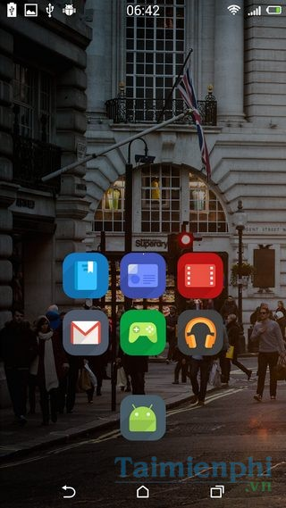 tai Flui iOs icon pack for Androidcho dien thoai