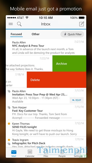 download Microsoft Outlook for iOS