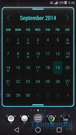 download Month: Calendar Widget