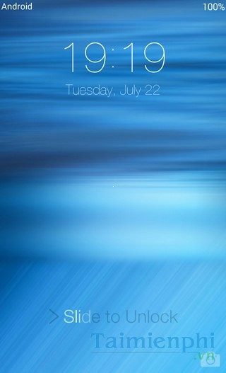 tai OS 8 Lock Screen for Android cho dien thoai