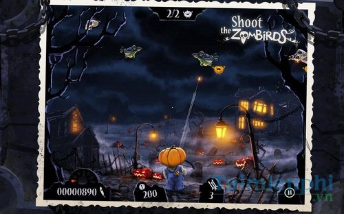 download Shoot The Zombirds