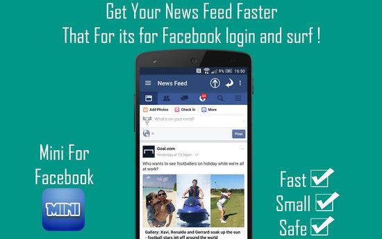 tai mini for facebook, download mini for facebook