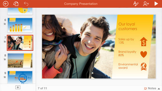 tai powerpoint cho iphone, download powerpoint cho ipad
