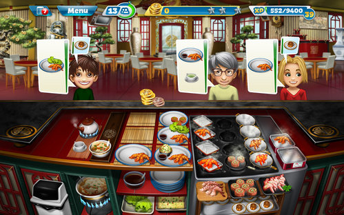 download cooking fever cho iphone