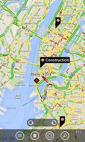 Google Map cho Windows Phone - Xem bản đồ, chỉ đường, xem địa điểm trê