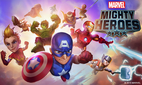 Tai game Marvel Mightly cho dien thoai mien phi