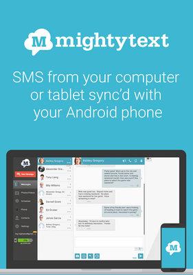 tai mightytext cho android