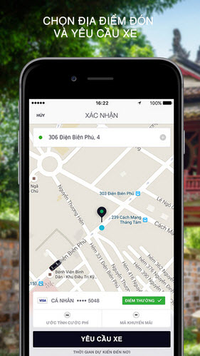 download uber cho iphone