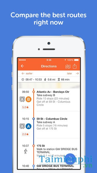 download Moovit for iOS