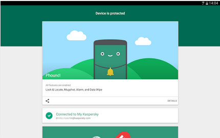 Kaspersky Phound cho Android