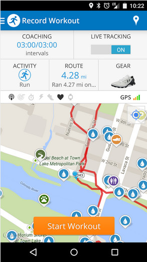 Map My Run for Android