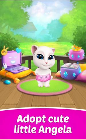 Tai game Talking Angela Meo meo