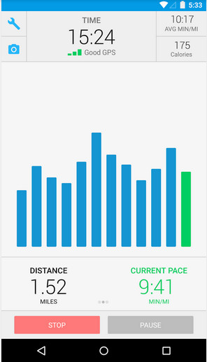 RunKeeper for Android