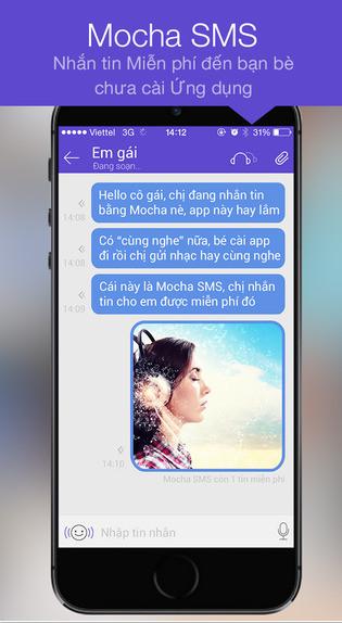 download Mocha Messenger cho iPhone