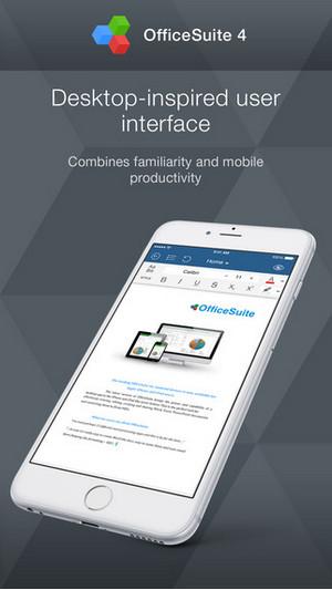 OfficeSuite Premium cho iOS