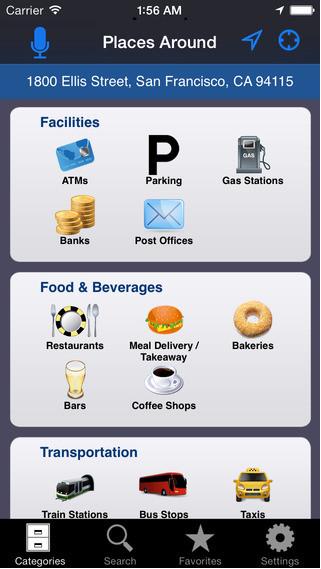 tai Places Around cho iPhone