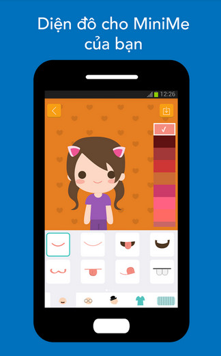 download LoveByte MiniMe Avatar Maker cho android