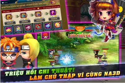 Download game Na 3D ve dien thoai