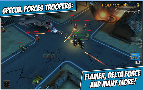 Tiny Troopers 2: Special Ops - Game băn súng trên Android