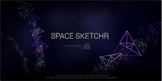 space sketchr len y tuong trong khong gian ao