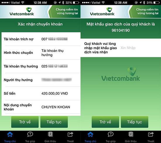 vietcombank android