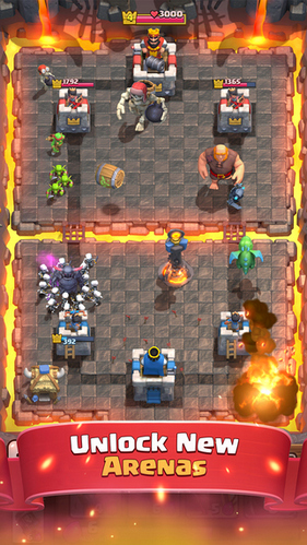 download Clash Royale cho iPhone