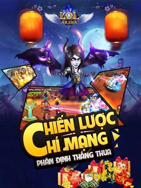 lol arena cho iphone