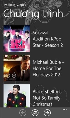 tvBox for Windows Phone
