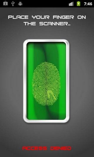 Fingerprint Lock HD for Android