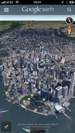 Google Earth for iOS
