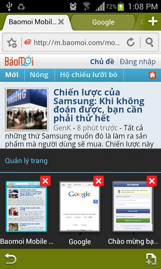Laban browser for Android
