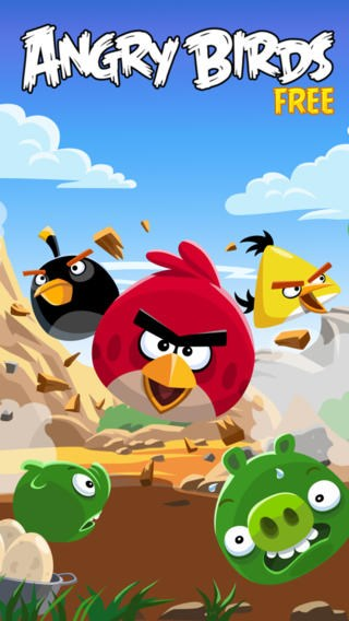tai Angry Birds cho iPhone