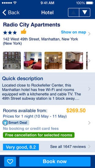 Booking.com for iOS