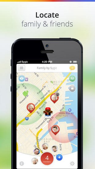 Family by Sygic for iOS