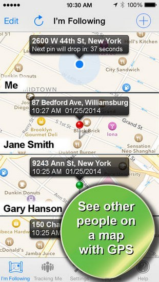 Phone Tracker for iOS