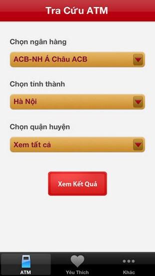 Tra cứu ATM for iOS