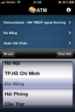 Tra cứu vị trí ATM for iOS