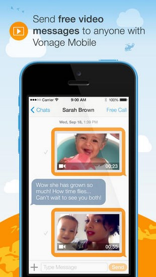 Vonage Mobile for iPhone