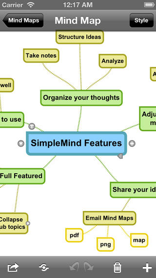 SimpleMind+ for iOS