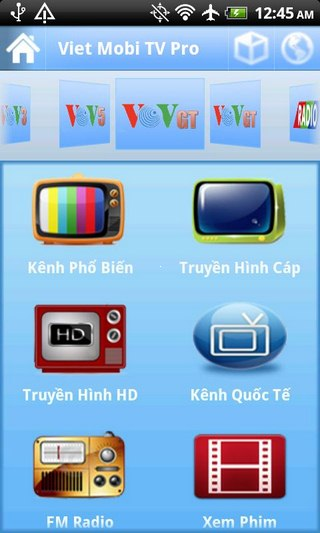 Viettel Mobi TV for iOS