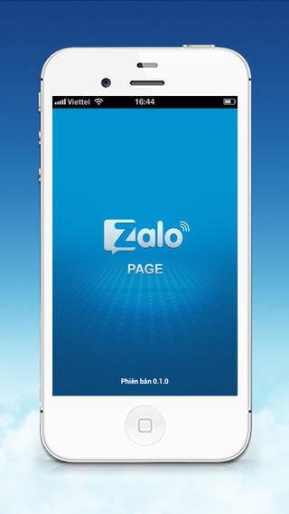 Zalo Page for iOS