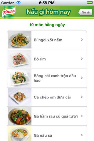 100 món ngon for iOS