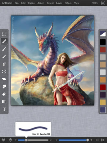 ArtStudio for iPad