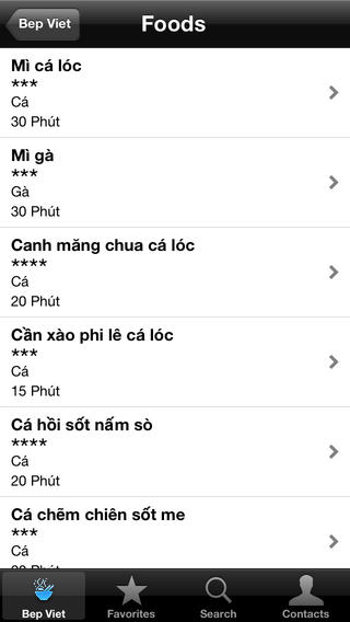 Bếp Việt full for iOS