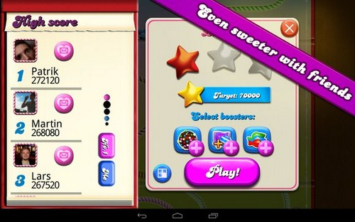 candy crush saga android hack
