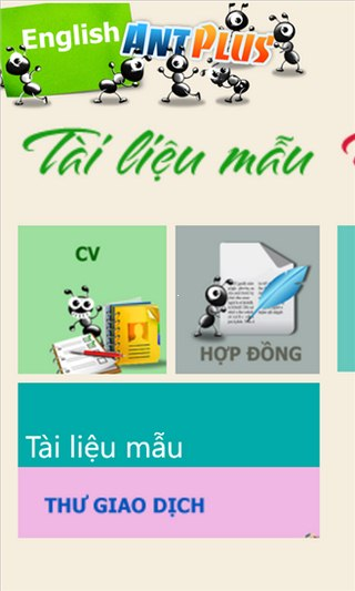 English Ant plus for Windows Phone